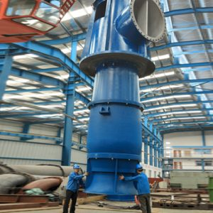 Полупогружные вертикальные турбинные насосы